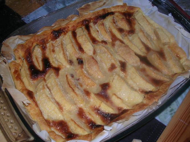 Recettes cuisine - Dessin tarte aux pommes ...